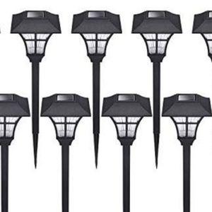10 solar outdoor lights